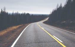 oändlighetsväg till Arkivbilder