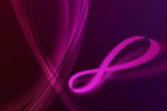 oändlighetsviolet Royaltyfria Bilder