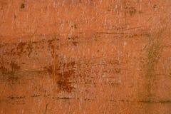 Ośniedziała metal powierzchnia z narysami obrazy stock
