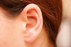 Oído Imágenes de archivo libres de regalías