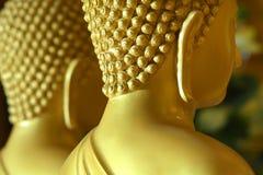 Oídos del Buda en el templo Foto de archivo