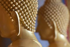 Oídos del Buda en el templo Foto de archivo libre de regalías