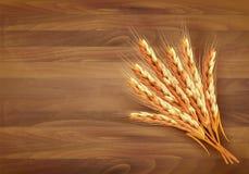 Oídos del trigo Ilustración del vector stock de ilustración