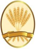Oídos del trigo y de las cintas. Fotografía de archivo