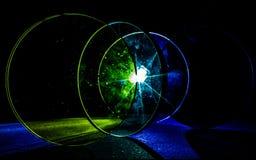 объективы Слепимость света в объективах стоковое фото