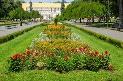 Общественный парк - Vrnjacka Banja, Сербия стоковые изображения rf