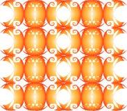 Огненые совы   fire owls vector illustration