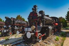 12-ое июля 2018 Турция Kusadasi Музей поездов стоковые фото