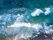 Океан от трутня стоковое фото rf