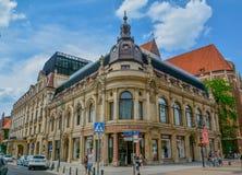 Оперный театр в Wroclaw Польше стоковое изображение rf