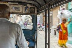 Освобождать Tuk Tuk в Индии стоковое фото rf