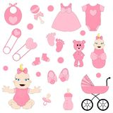 Baby girl, digital images, baby clipart,. Baby shower clipart, baby girl shower, clipart, pink, digital clipart, digital images, baby clipart vector illustration