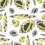 Marble leaves . royalty free illustration