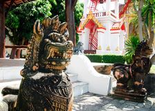 Основное место паломничества для Thais в виске Wat Chalong Пхукета буддийском стоковое фото