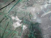 Острый стеклянный ненужный конец вверх по съемке стоковая фотография