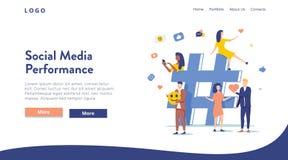 Отношение, онлайн датировка и концепция сети - люди деля информацию через социальные платформы средств массовой информации иллюстрация штока