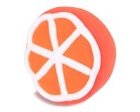 Очень вкусный апельсин handmade от глины пластилина аранжирует красив стоковое изображение rf