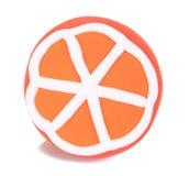 Очень вкусный апельсин handmade от глины пластилина аранжирует красив стоковое фото rf