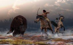 Охота медведя