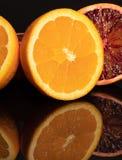 Оранжевый плодоовощи сочно витамин Макрос Красный стоковые изображения rf
