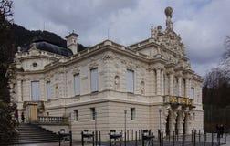 Ориентир дворца Linderhof баварский стоковое изображение rf