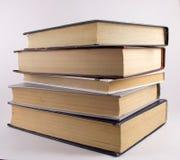 Oöppnade böcker Fotografering för Bildbyråer