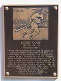 OÖVERTRÄFFADE STORA LARRY DOBY - Cleveland Indians - BASEBALL Royaltyfria Foton