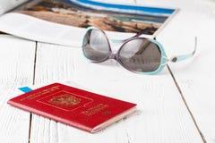 Où partir en voyage pendant les vacances Photos stock