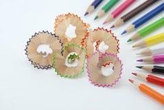 ołówek śliwek Zdjęcie Stock