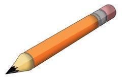 ołówek ołowiu Ilustracji
