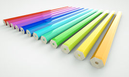 ołówek odwrotność Fotografia Stock