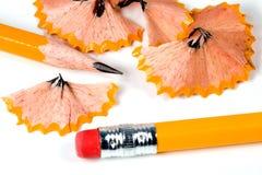 ołówek ostrzący fotografia stock