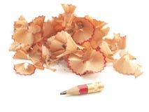 ołówek ostrzący obraz stock
