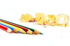 ołówków golenia Zdjęcie Royalty Free