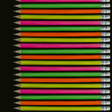 Ołówka tło Zdjęcie Stock