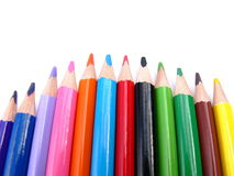 ołówki barwy fotografia royalty free