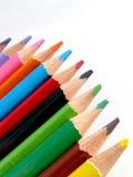 ołówki barwy obraz royalty free