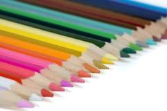ołówki barwy Obrazy Royalty Free