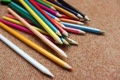 Ołówki dla Rysować Obrazy Royalty Free