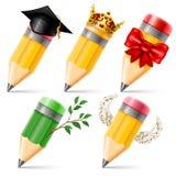 ołówki odłogowania Fotografia Stock
