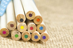 ołówki ustalić kolorów Zdjęcia Stock