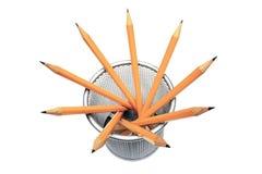 Ołówki w właścicielu obraz stock