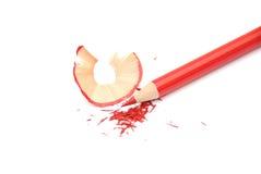 ołówkowa czerwień Zdjęcie Stock