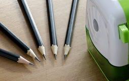 Ołówkowa i ołówkowa ostrzarka Zdjęcie Royalty Free