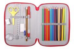 Ołówkowa skrzynka Zdjęcie Stock