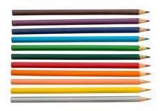 Ołówkowa tęcza Zdjęcie Royalty Free