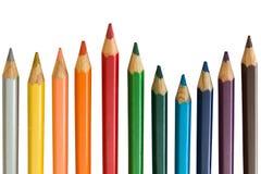Ołówkowa tęcza Obrazy Royalty Free