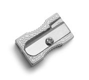 Ołówkowej ostrzarki metalu wierzchołek fotografia royalty free