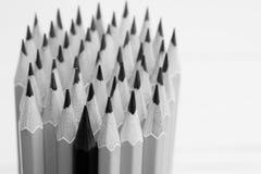 Ołówkowi prącia w karambol , Biznesowi pomysły zdjęcie royalty free