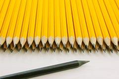 Ołówkowi prącia w karambol , Biznesowi pomysły zdjęcia royalty free